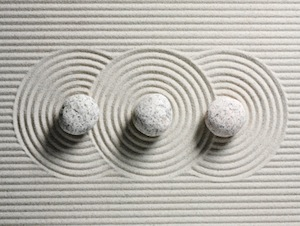 image of three stones